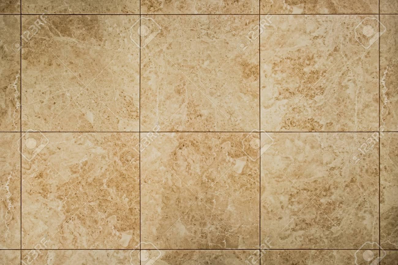 Mur Ocre sol en marbre ou motif carré de carreaux de mur. ocre, texture