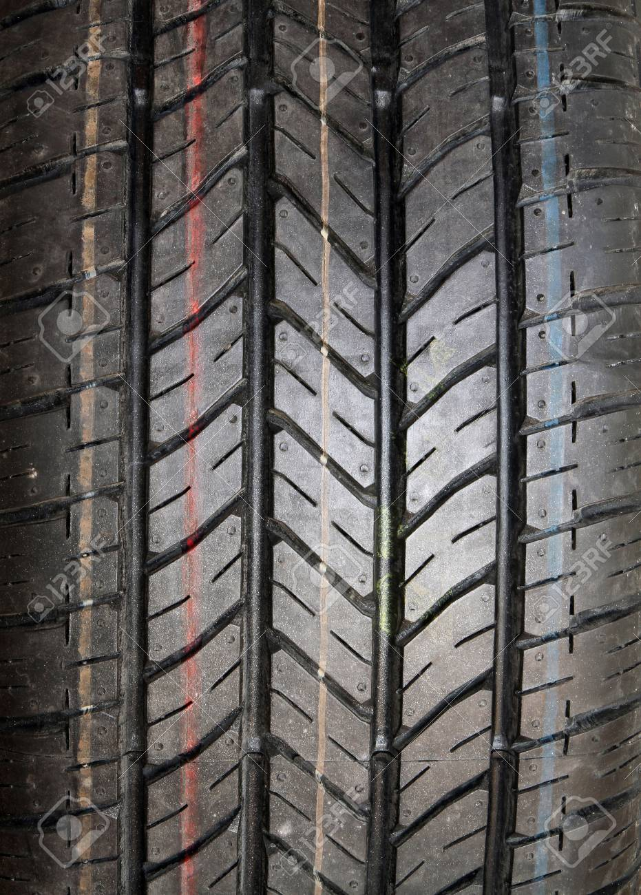 New tire texture background Stock Photo - 11648304