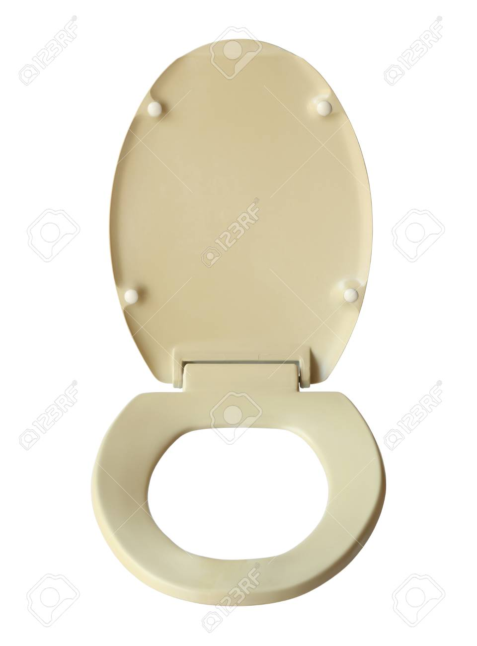 Magnificent Toilet Bowl Seat Cover Isolated On White Background Beatyapartments Chair Design Images Beatyapartmentscom