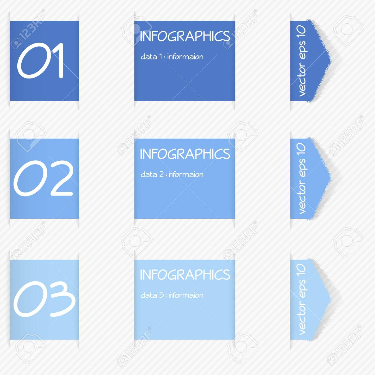 Design template for infographics Stock Vector - 19057878