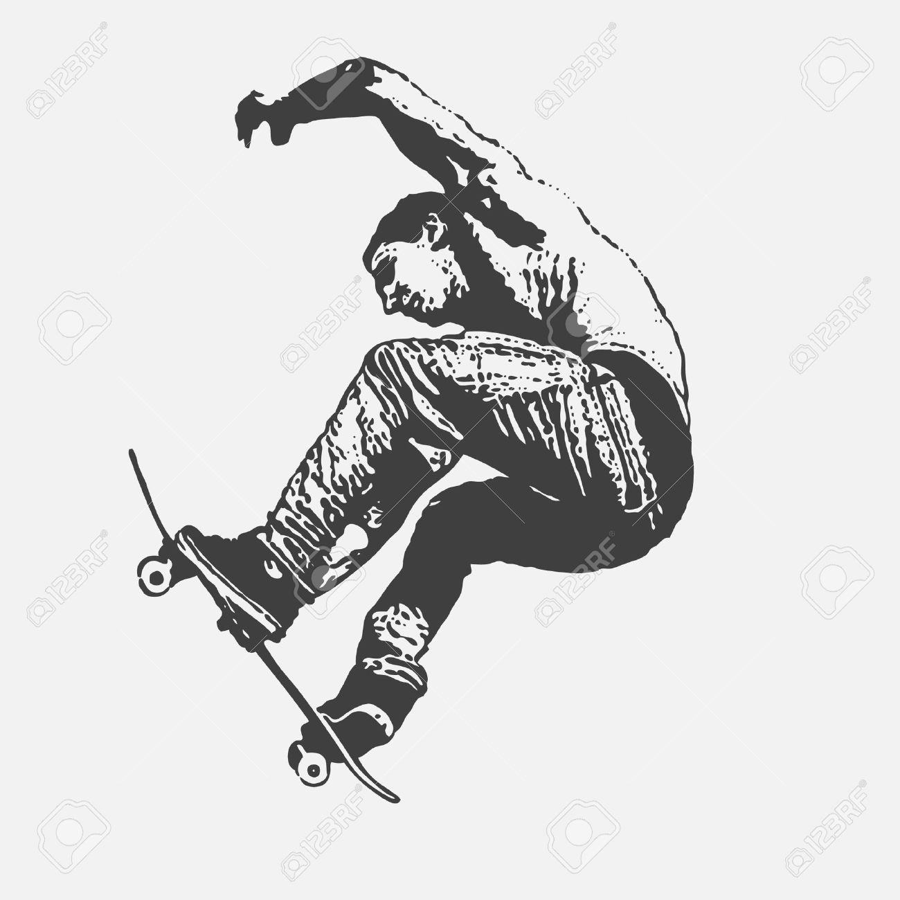 Boy jumping on a skateboard graffiti style vector illustration boy jumping on a skateboard graffiti style vector illustration stock vector 8920446 altavistaventures Images