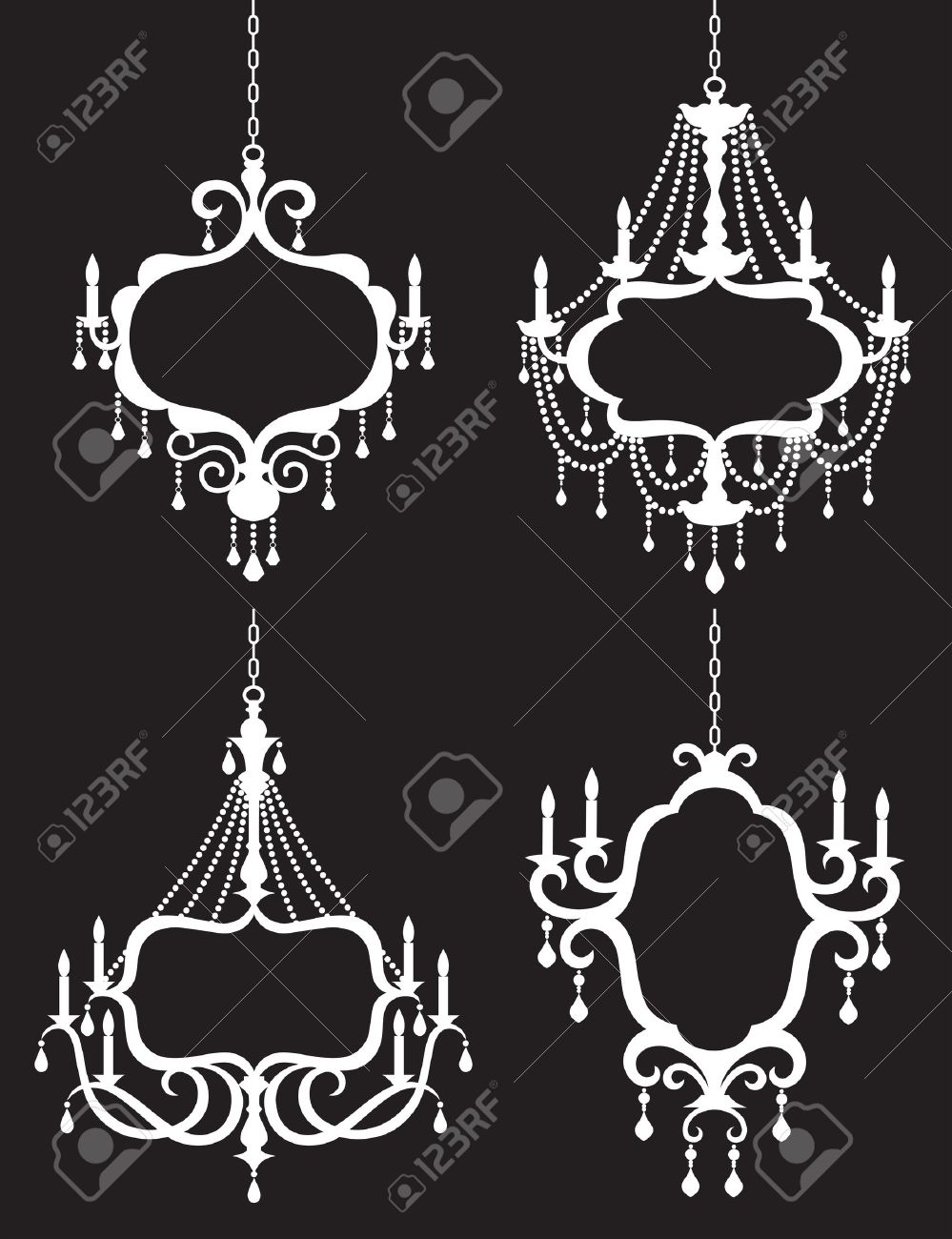 cut frame chandelier die etsy market il