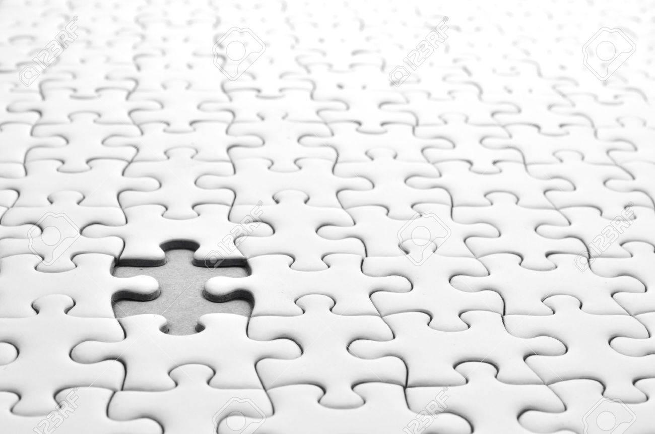 Jigsaw puzzle Stock Photo - 11136842