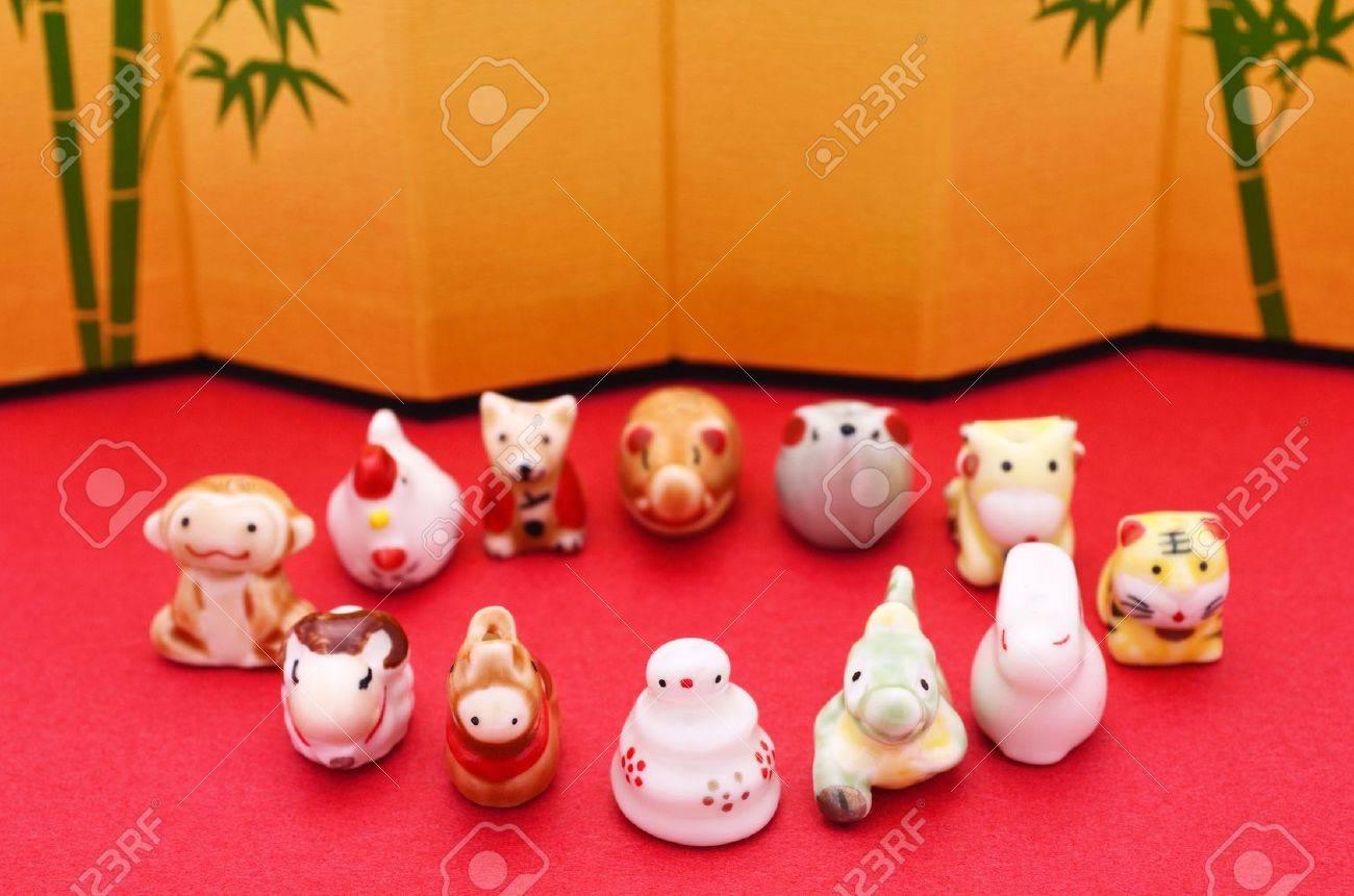 japanese zodiac ,eto Stock Photo - 12843398