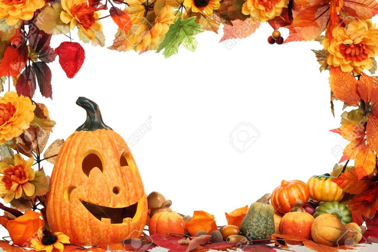 Halloween decoration isolated on white. Stock Photo - 5731901
