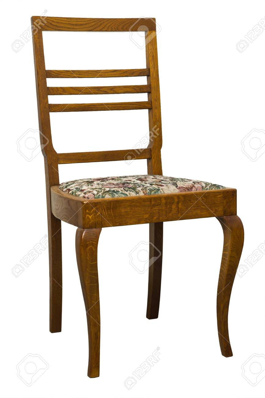 vintage art deco furniture. Stock Photo - Vintage Art Deco Chair Isolated On White Background Furniture