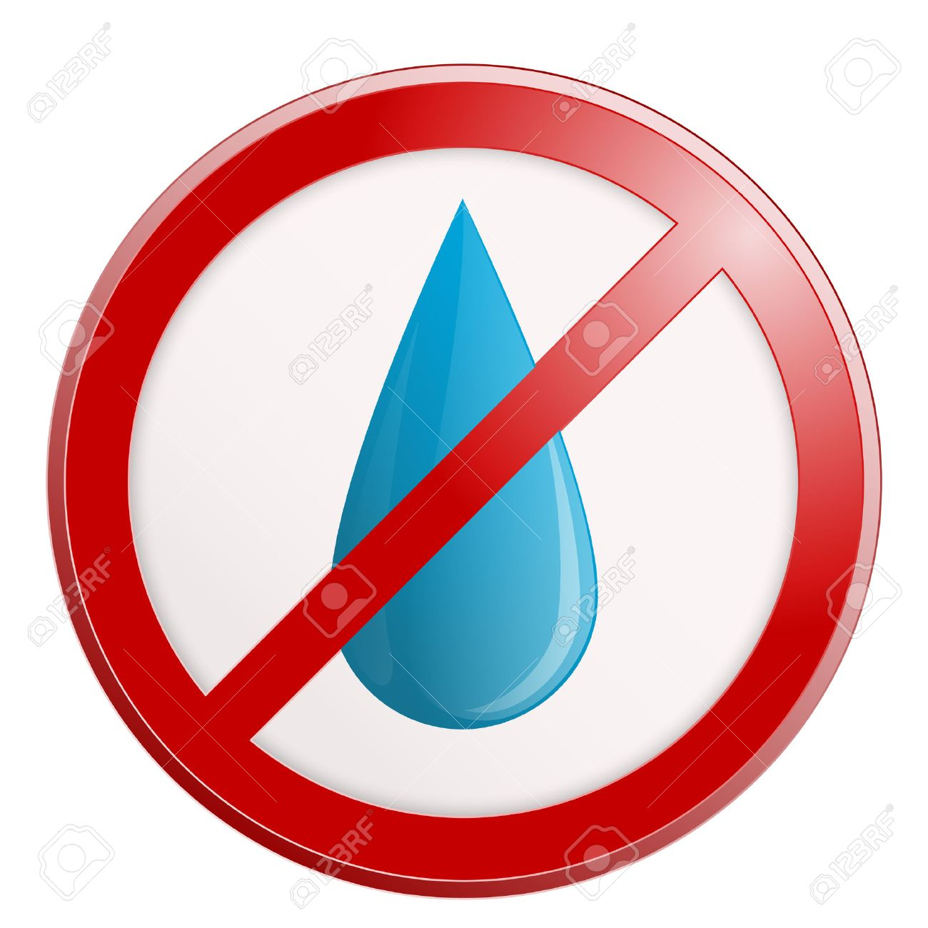 Image result for no water clipart