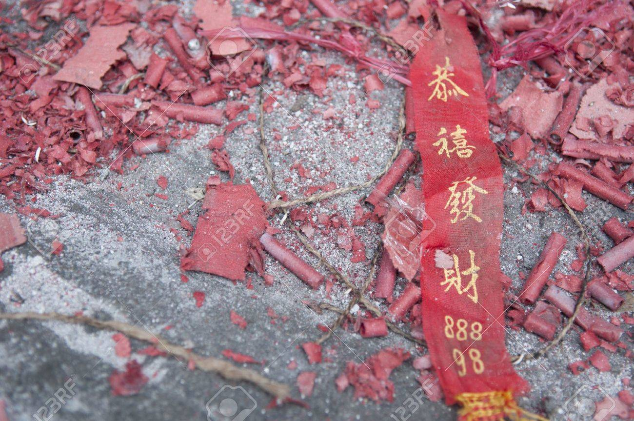 fire crackers in chinese new year Stock Photo - 8917574