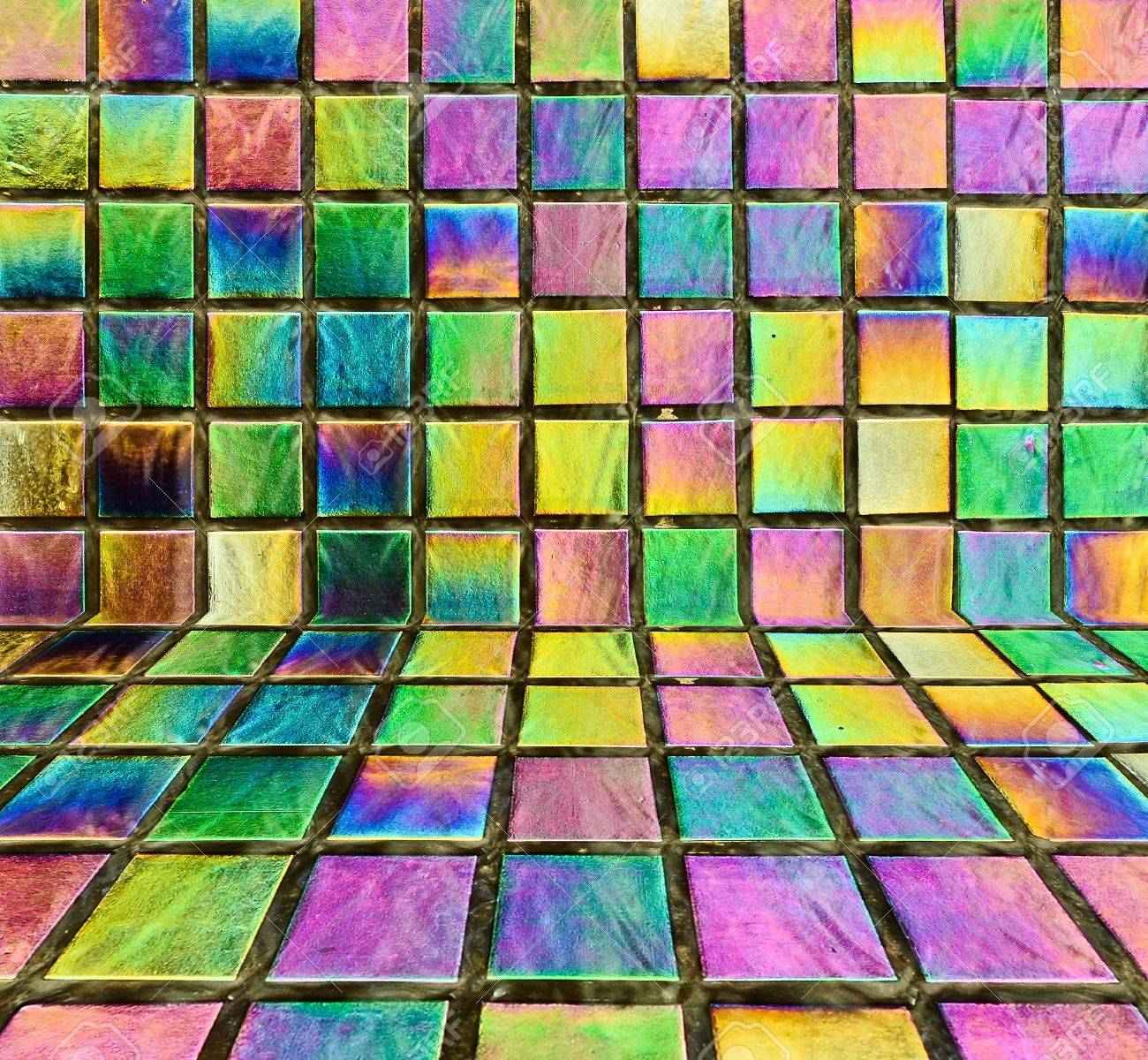 Abstract colorful rainbow background Stock Photo - 16010886