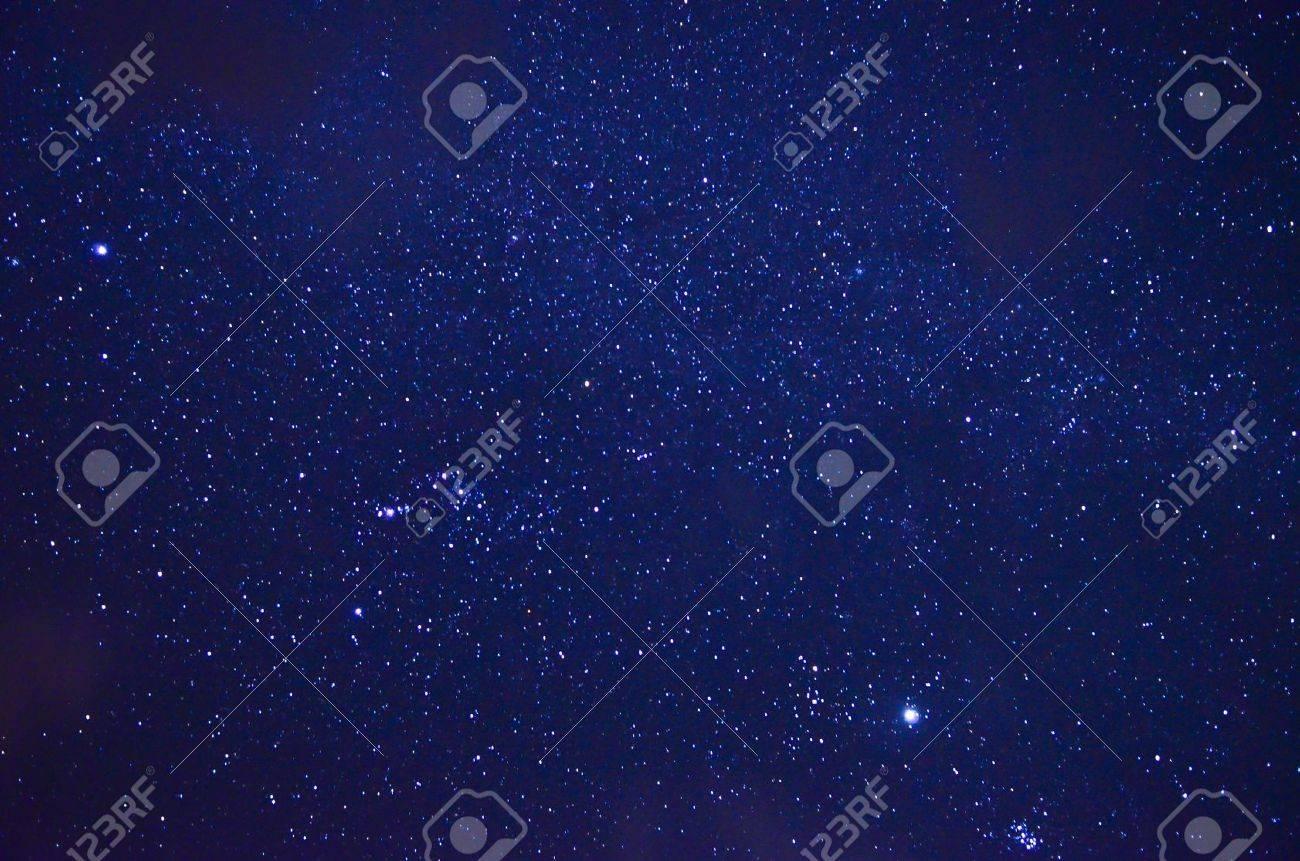 Night sky with stars Stock Photo - 17959779