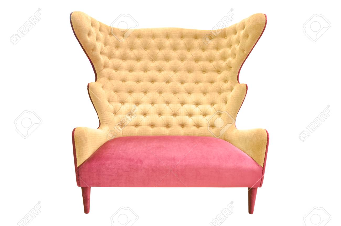 Vintage chair isolated Stock Photo - 23078882