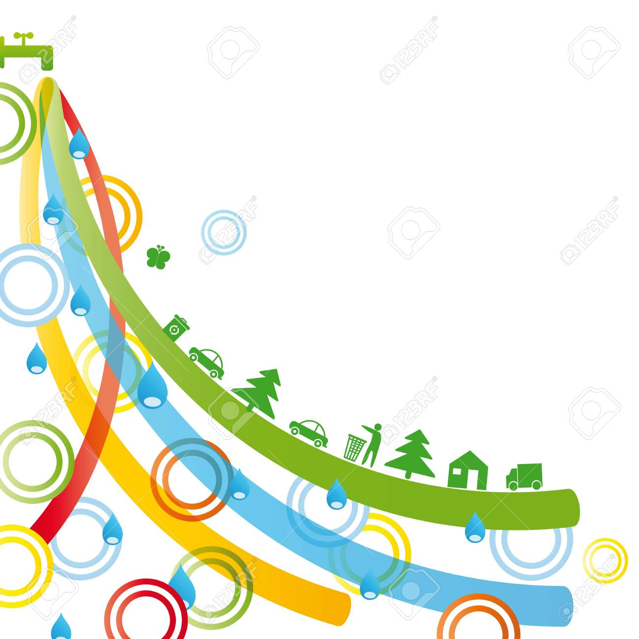 Ecology concept you can use on Earth Day Stock Vector - 9381248