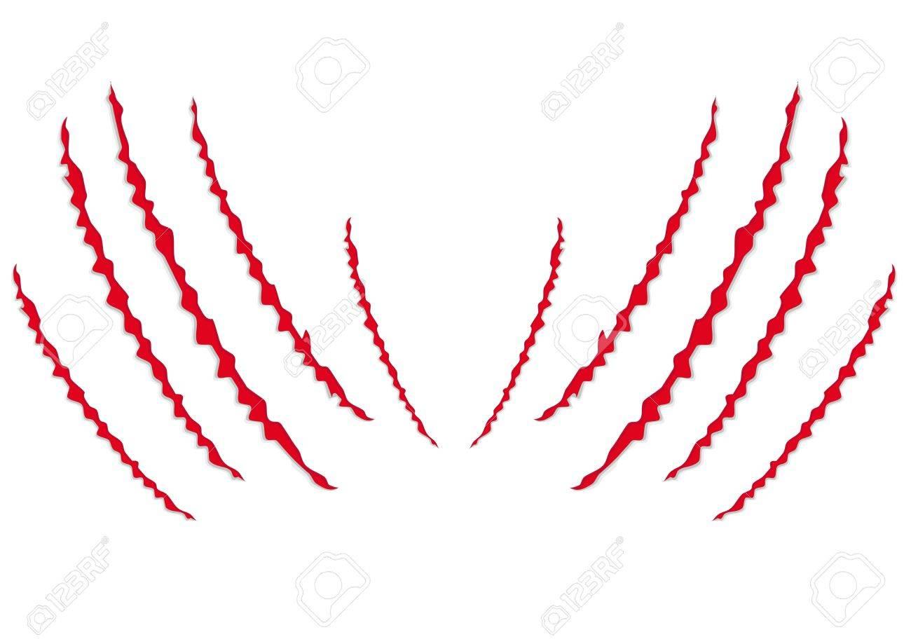 Paw Scratch Clipart