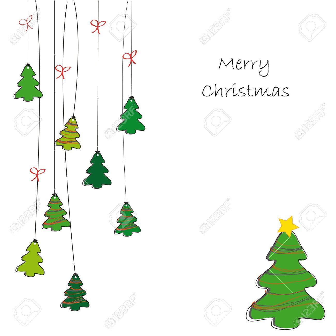 christmas tree to draw