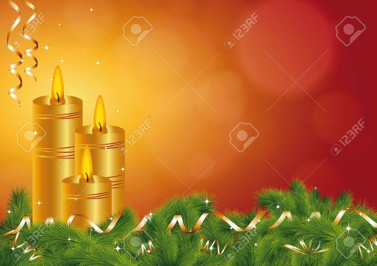 Background on All Souls' Day or Christmas Stock Vector - 9931788