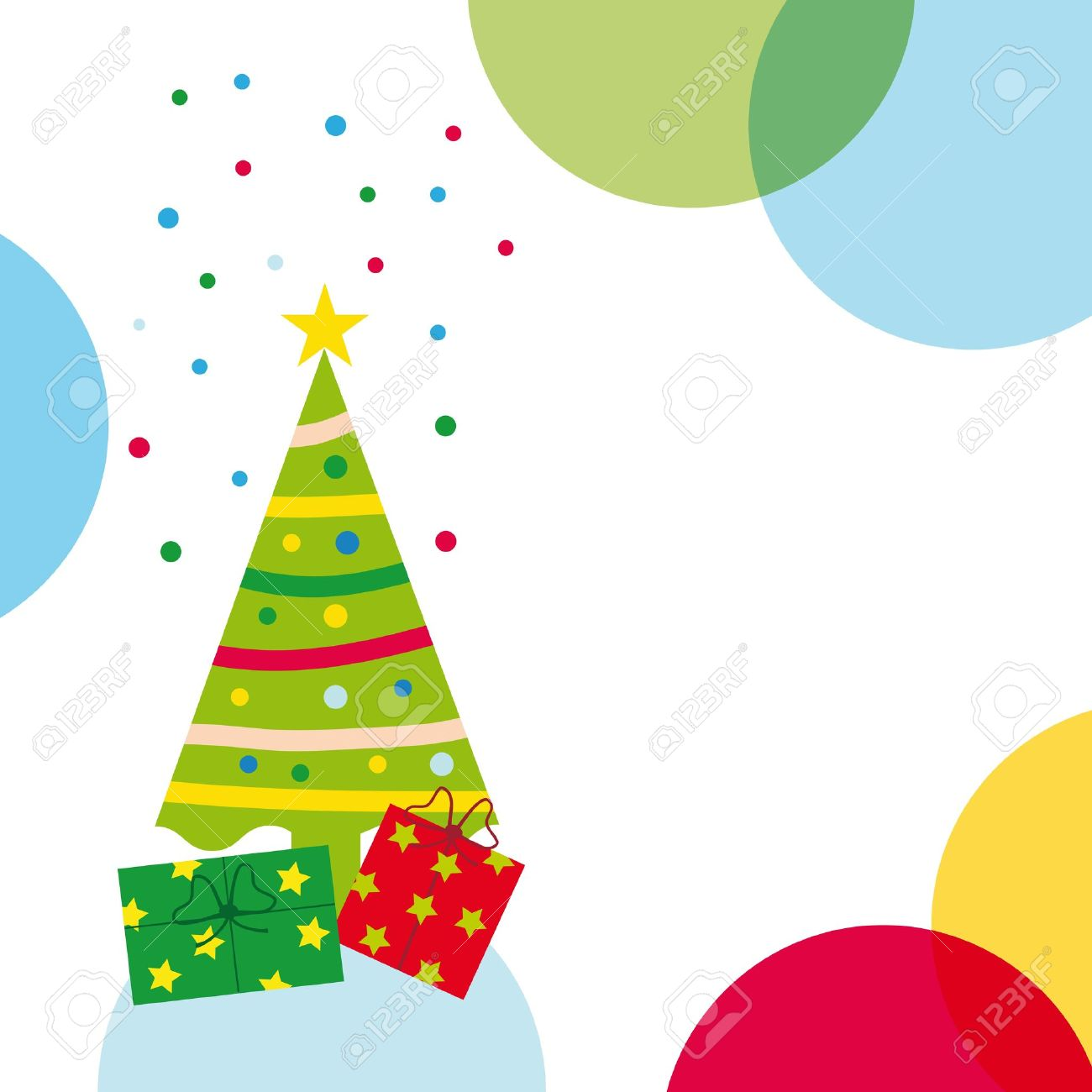 Christmas And New Year Background Royalty Free Cliparts, Vectors ...