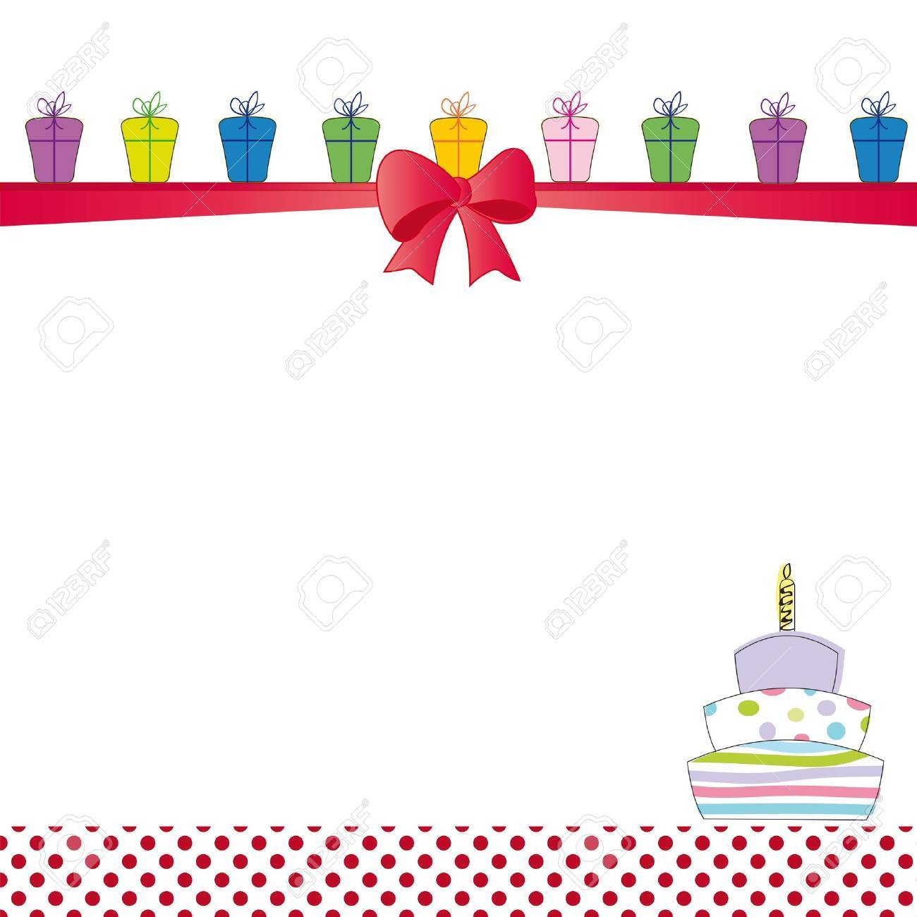 Cute color card on special day Stock Vector - 12494143