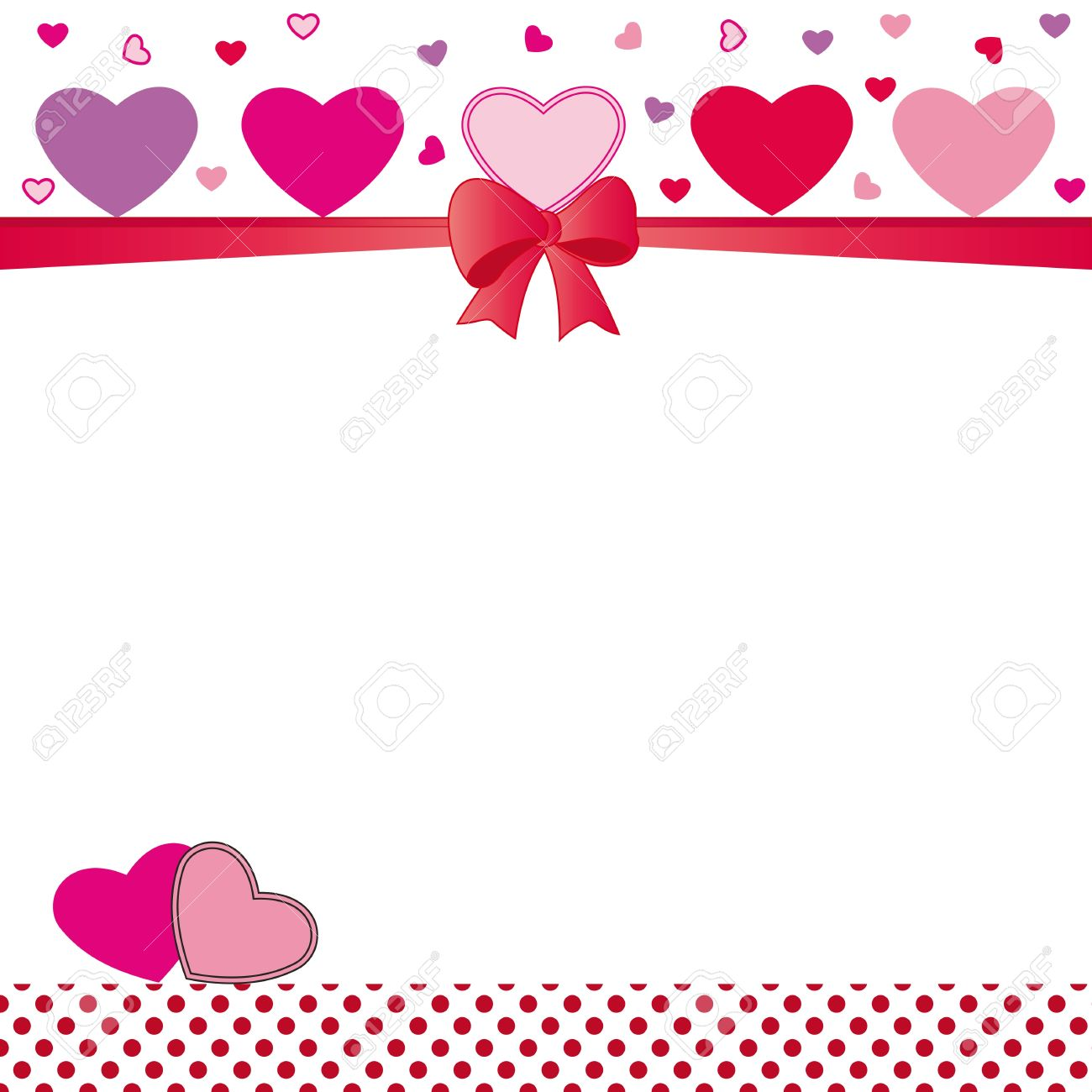 Cute Card On Valentines Day Or Wedding Royalty Free Cliparts