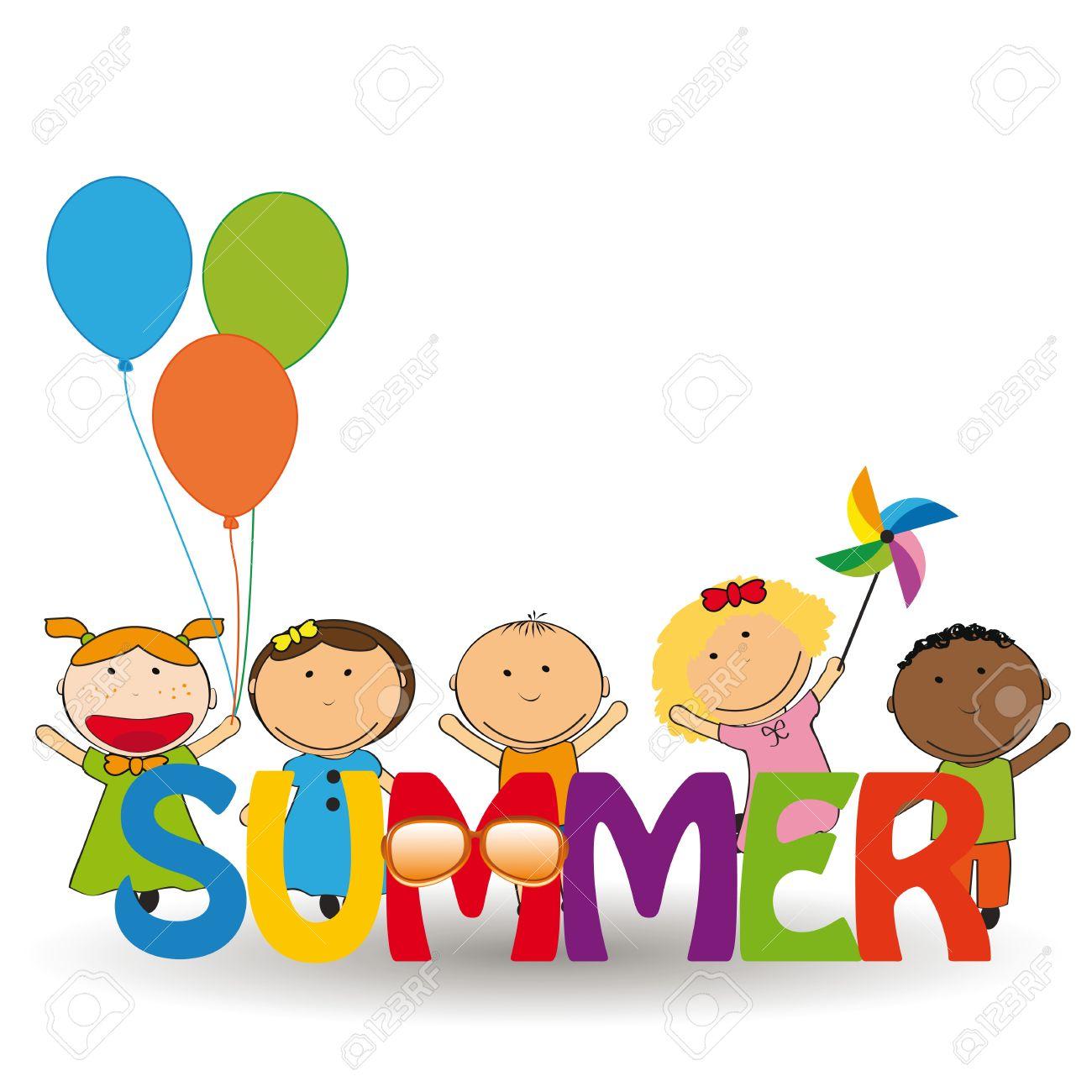 Risultati immagini per bambini estate