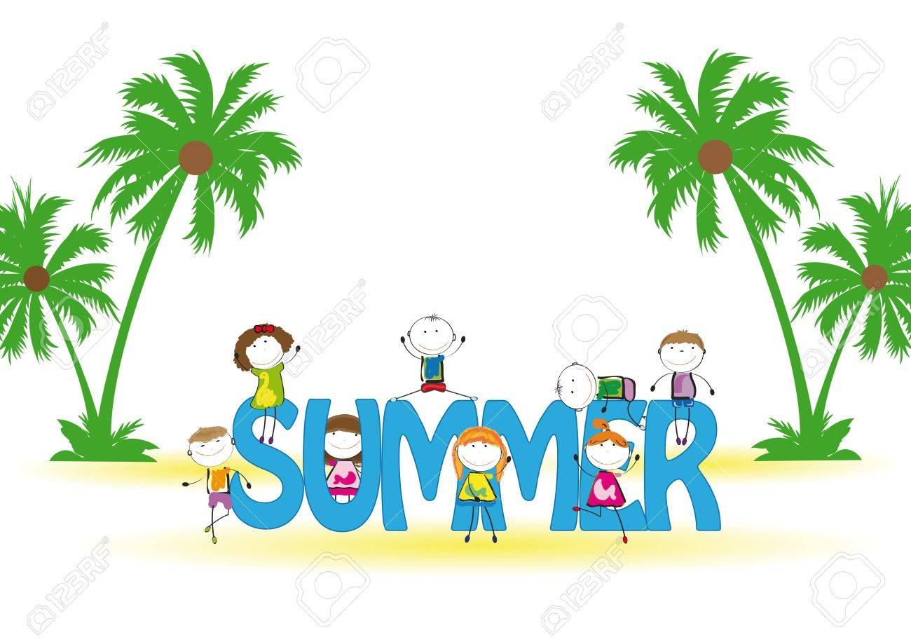 Image result for summer kids