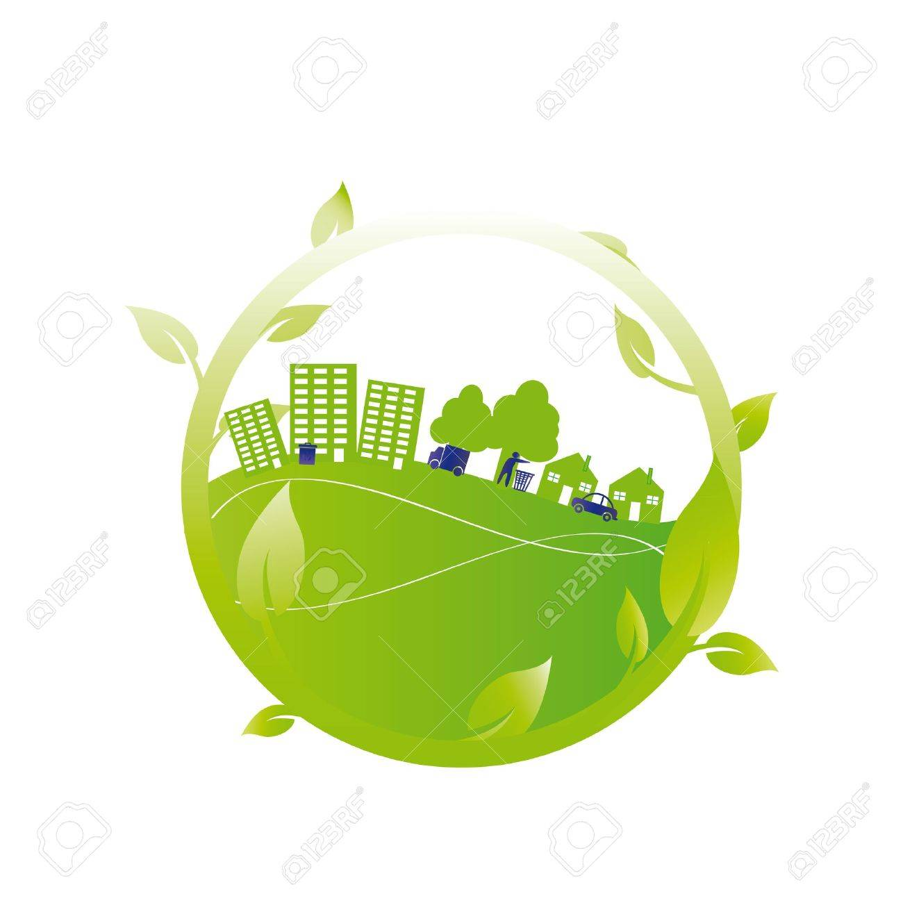 Ecology concept you can use on Earth Day Stock Vector - 15809643