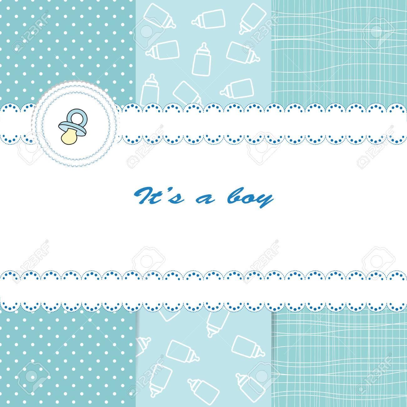 Baby card Stock Vector - 23313734