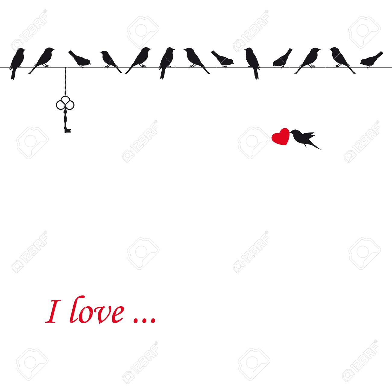 Card on Valentine s day Stock Vector - 24124951