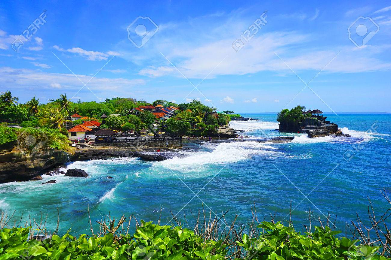 Tanah Lot Temple Bali Island Indonesia Stock Photo Picture And
