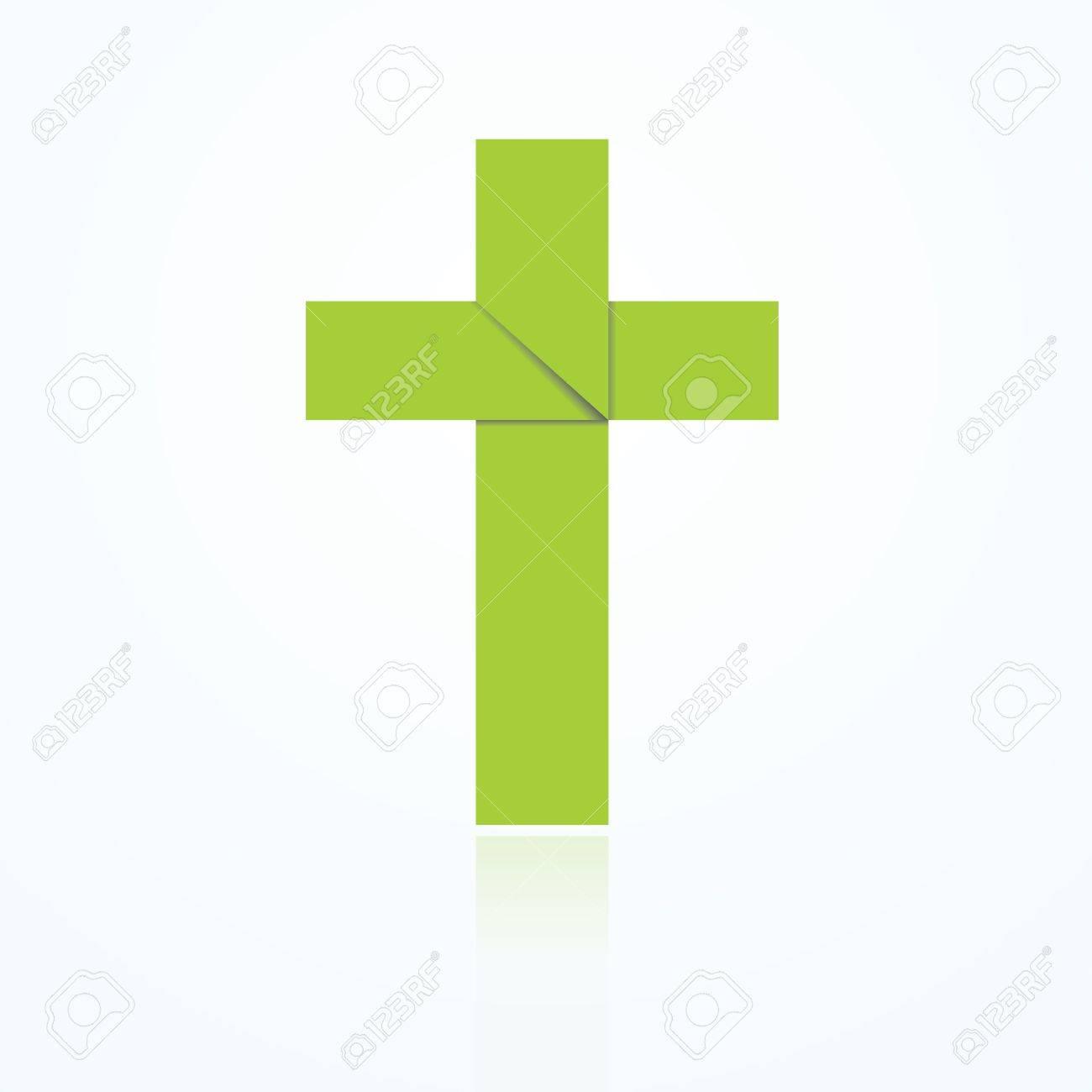 Easter Cross - Make-Origami.com | 1300x1300