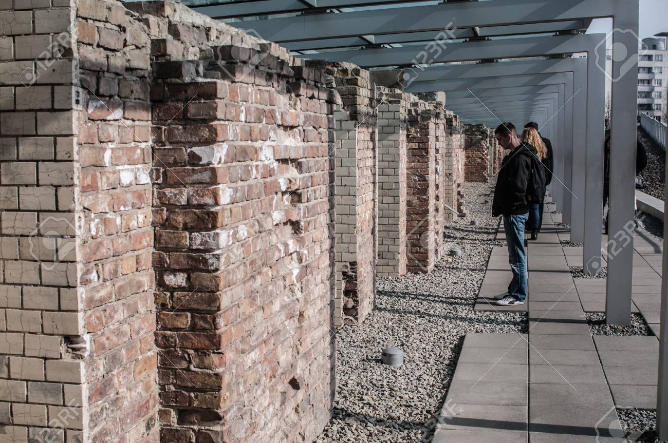 Museum of the topography of terror in berlin located on niederkirchnerstrasse the site of