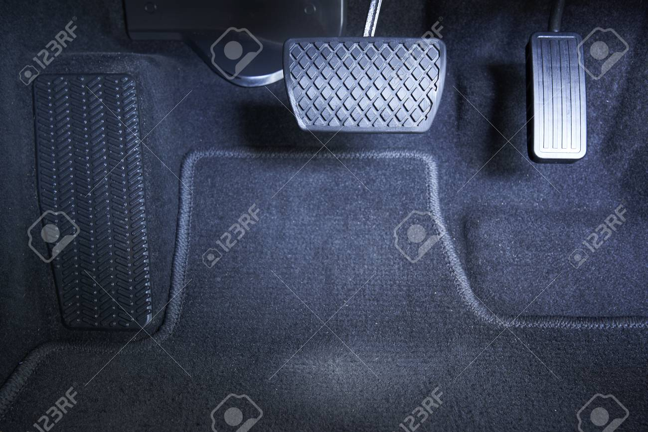 Brake And Accelerator Pedal, Automatic Transmission Car. Stock Photo,  Picture And Royalty Free Image. Image 102929509.