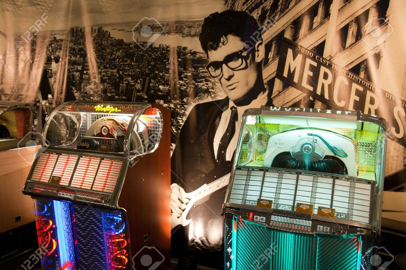 ROSMALEN, THE NETHERLANDS - OCTOBER 15: Classic Jukeboxes for