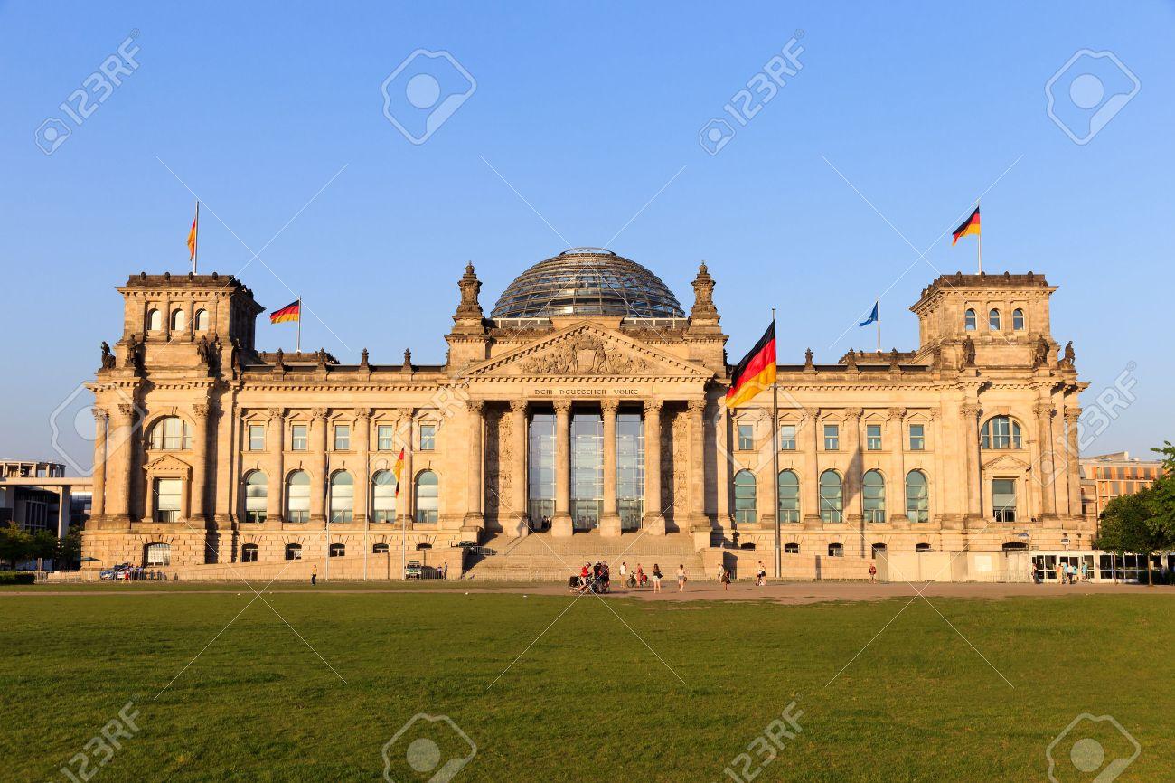 The Reichstag building in Berlin German parliament - 28900046
