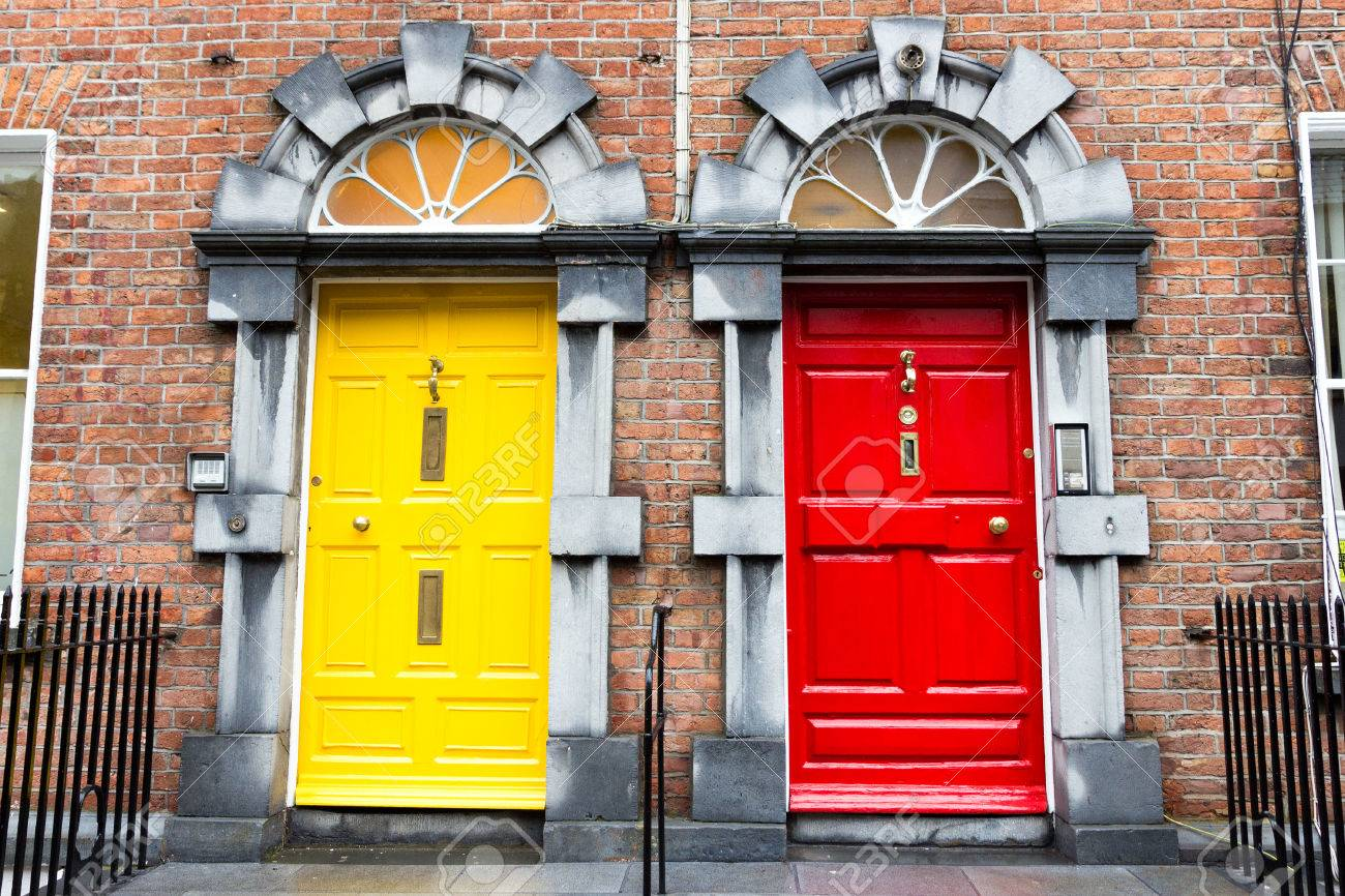 Georgian Doors in Ireland Stock Photo - 38730434 & Georgian Doors In Ireland Stock Photo Picture And Royalty Free ...