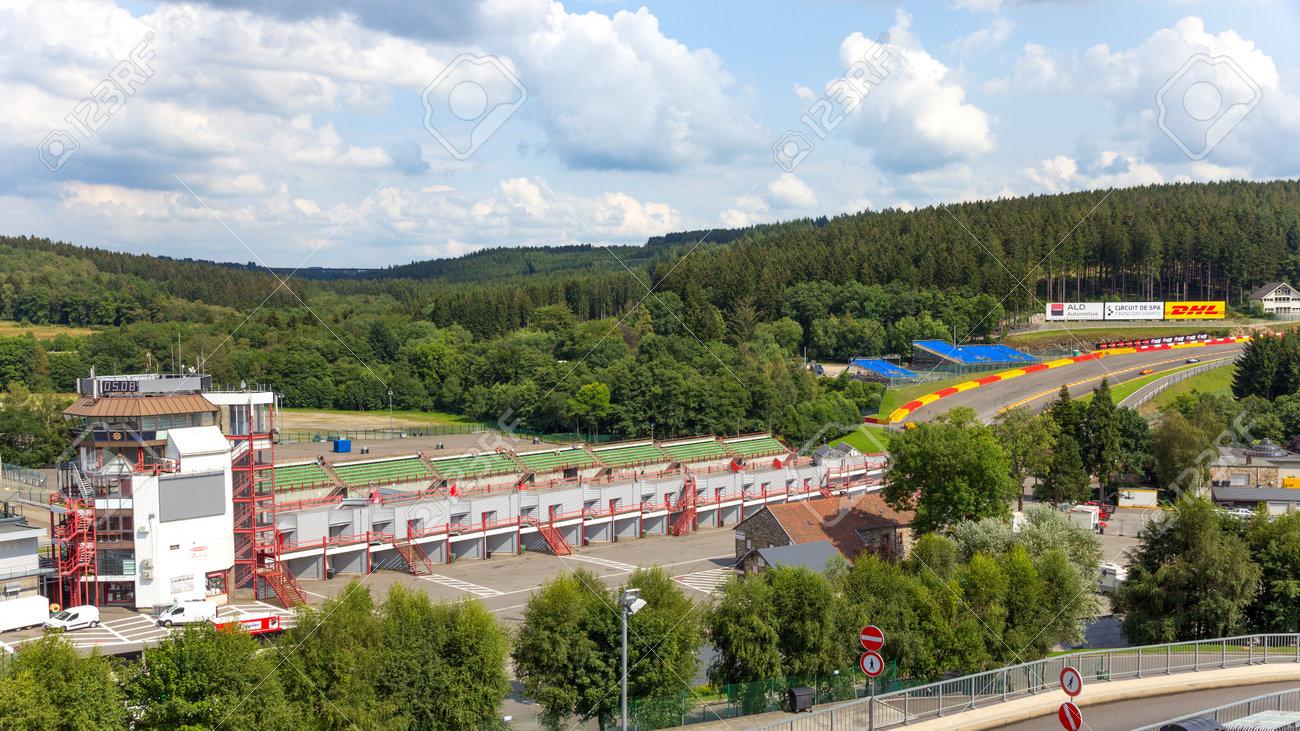 Circuito Spa : Spa bélgica 05 de agosto: torre de control del circuito de spa