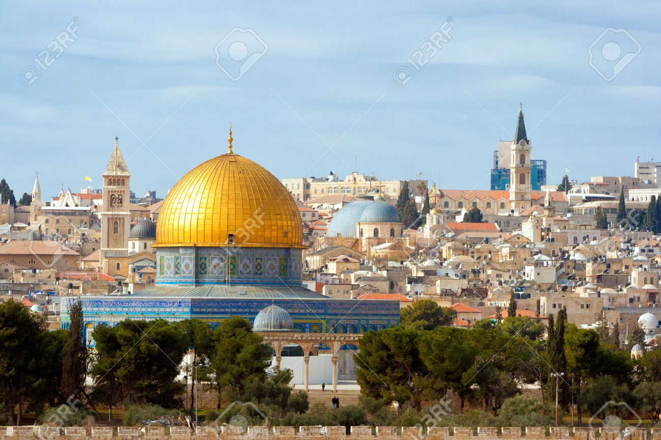 The Dome of the Rock on the temple mount in Jerusalem Israel - 40607062