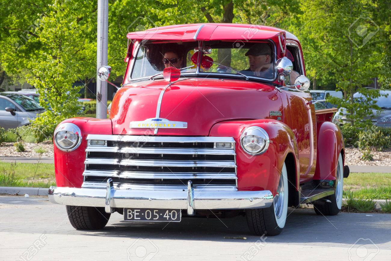 Den Bosch The Netherlands May 10 2015 1951 Chevrolet Pick Up