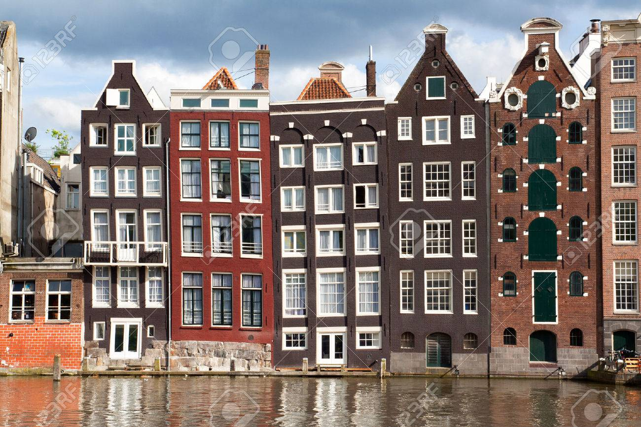 Amsterdam canal houses - 44116734