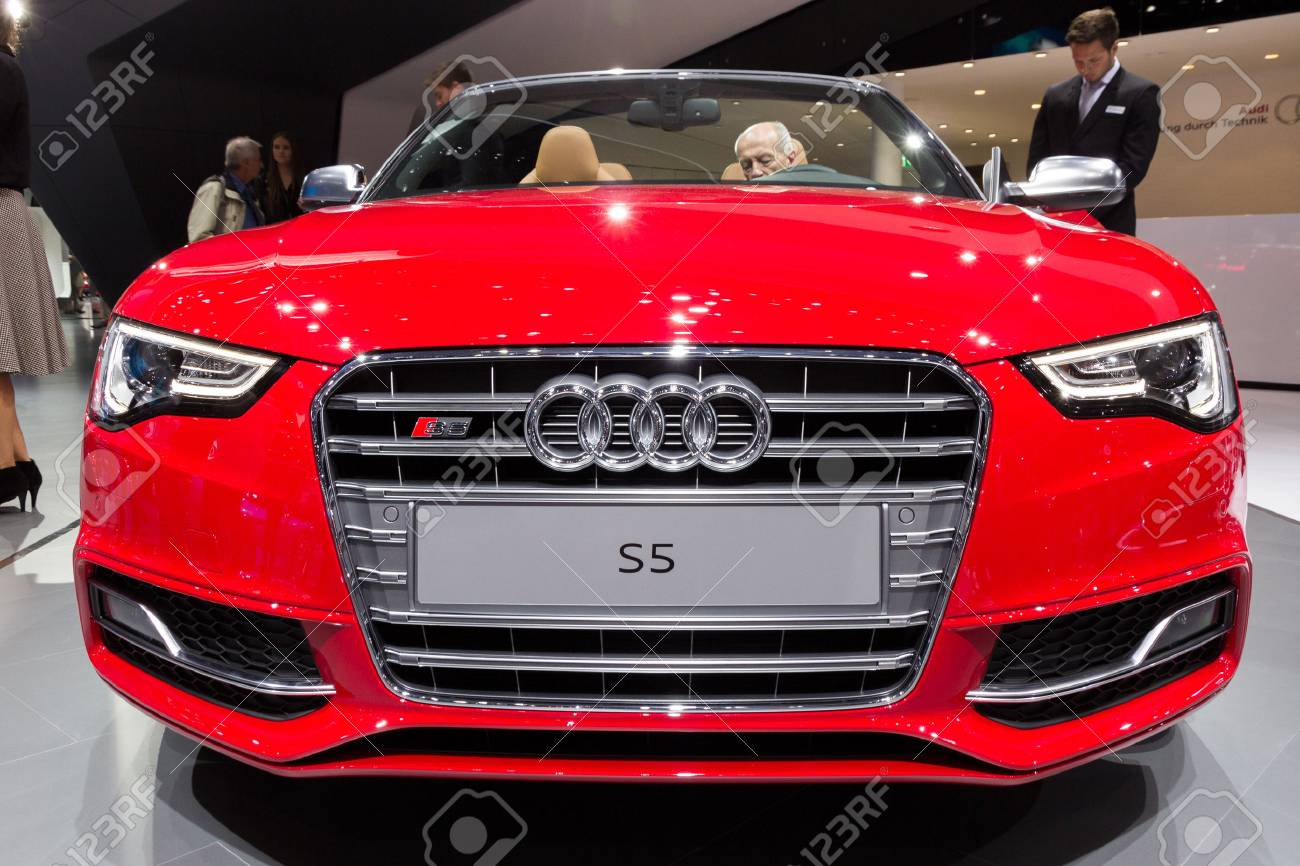 Frankfurt Germany Sep 16 2015 2016 Audi S5 Convertible Shown Stock Photo Picture And Royalty Free Image Image 47388013