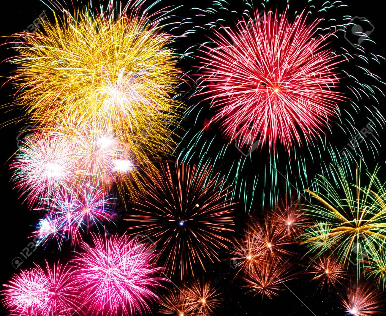 Fireworks - 48324083