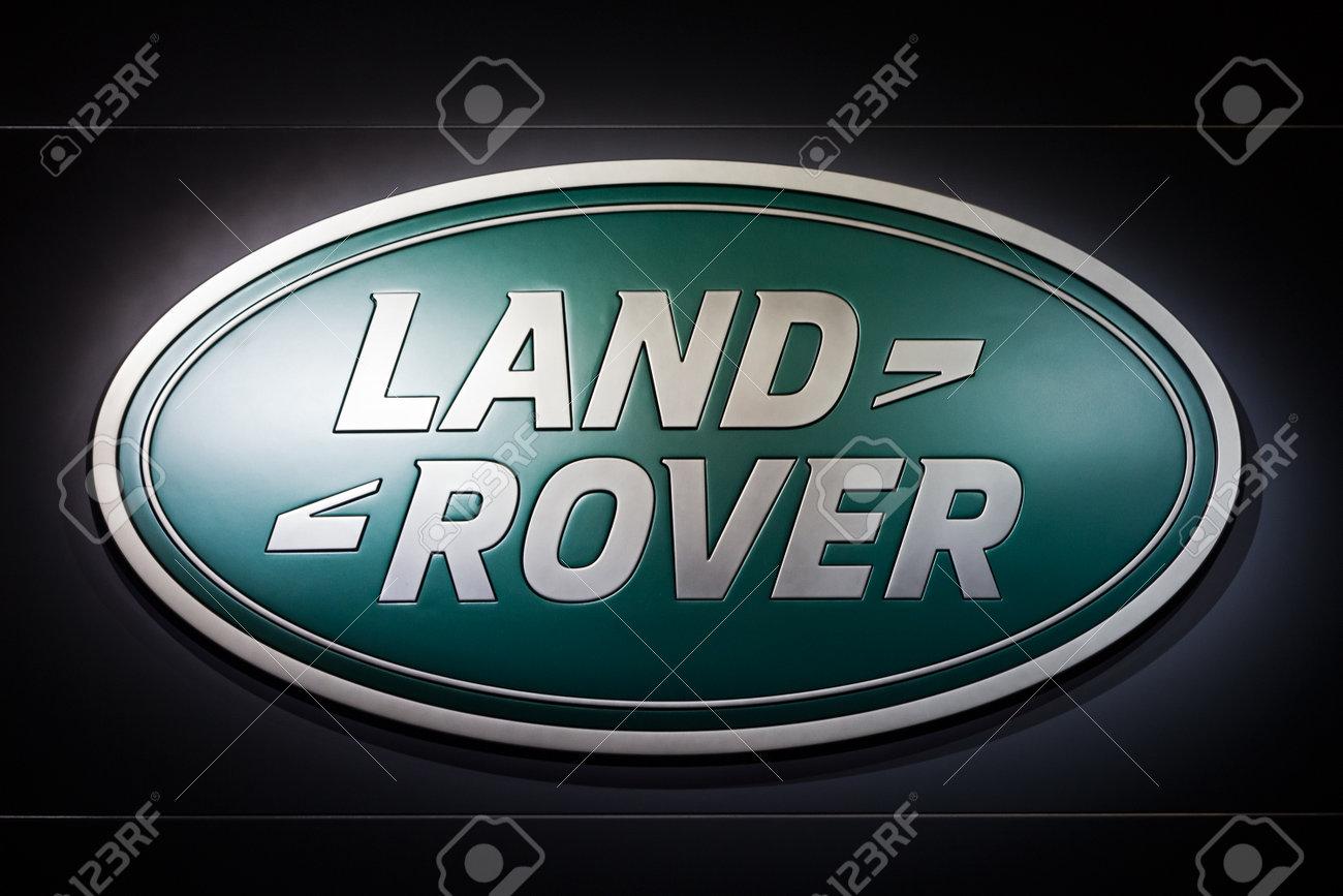 Frankfurt Germany Sep 20 Land Rover Symbol At The Iaa Motor