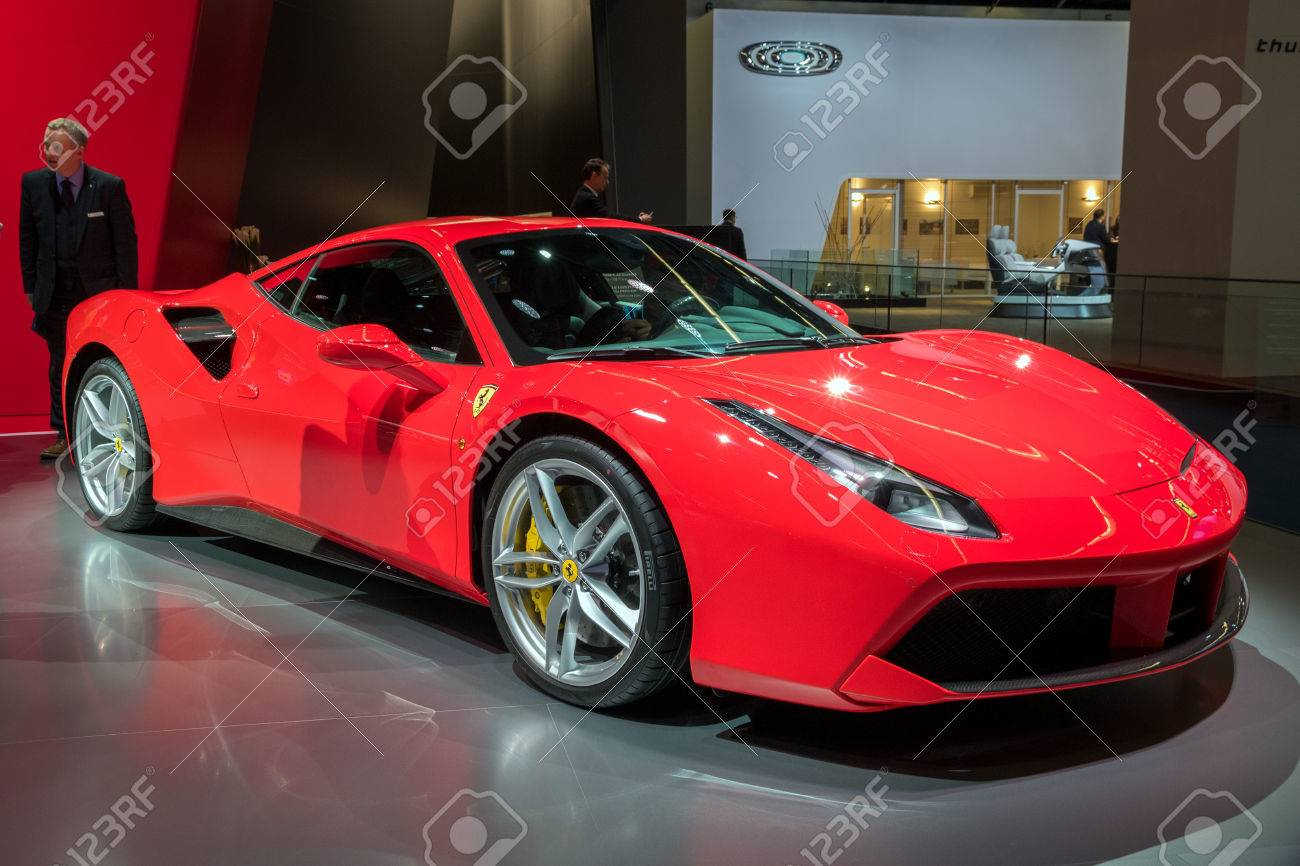 Frankfurt Germany Sep 12 2017 Ferrari 488 Gtb Spider Sports Stock Photo Picture And Royalty Free Image Image 86342880