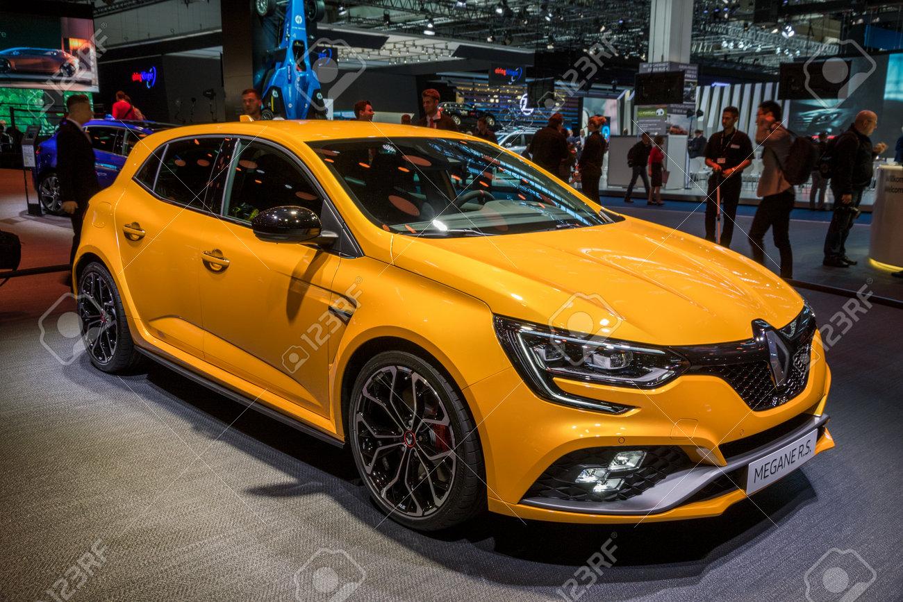 Megane Rs 2017 >> Frankfurt Germany Sep 13 2017 New 2018 Renault Megane Rs