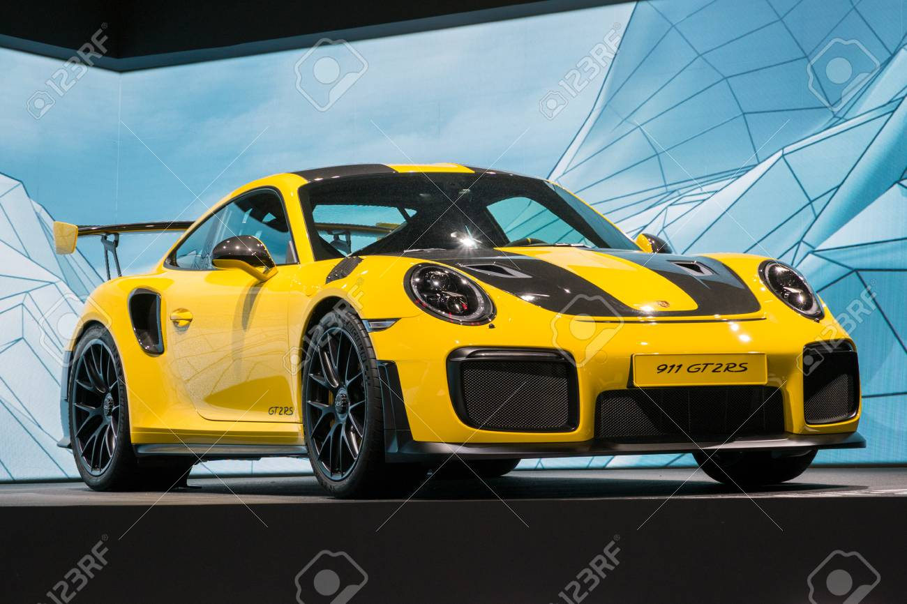 Frankfurt Germany Sep 12 2017 New Porsche 911 Gt2 Rs Sports Stock Photo Picture And Royalty Free Image Image 88872592