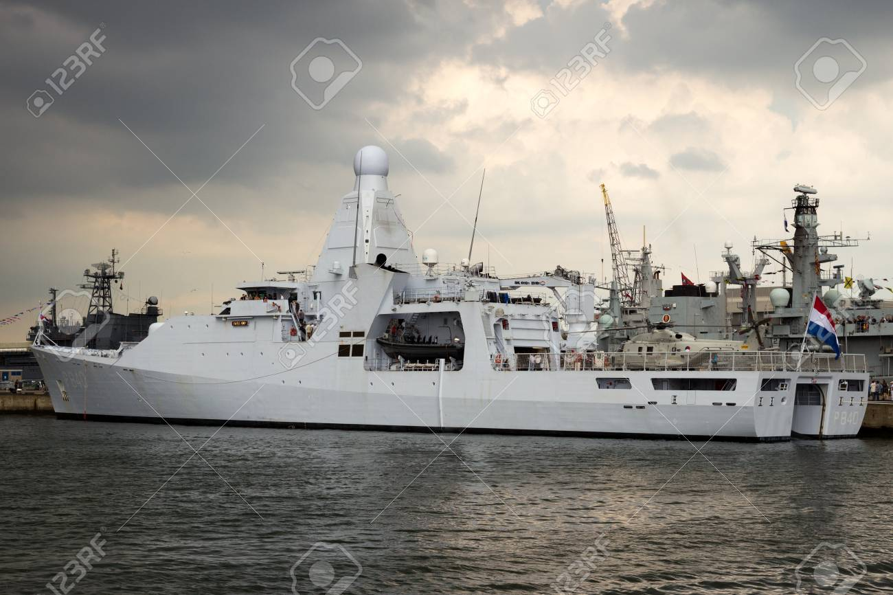 Den Helder The Netherlands Jul 7 2012 New Dutch Navy Patrol Stock Photo Picture And Royalty Free Image Image 91067334
