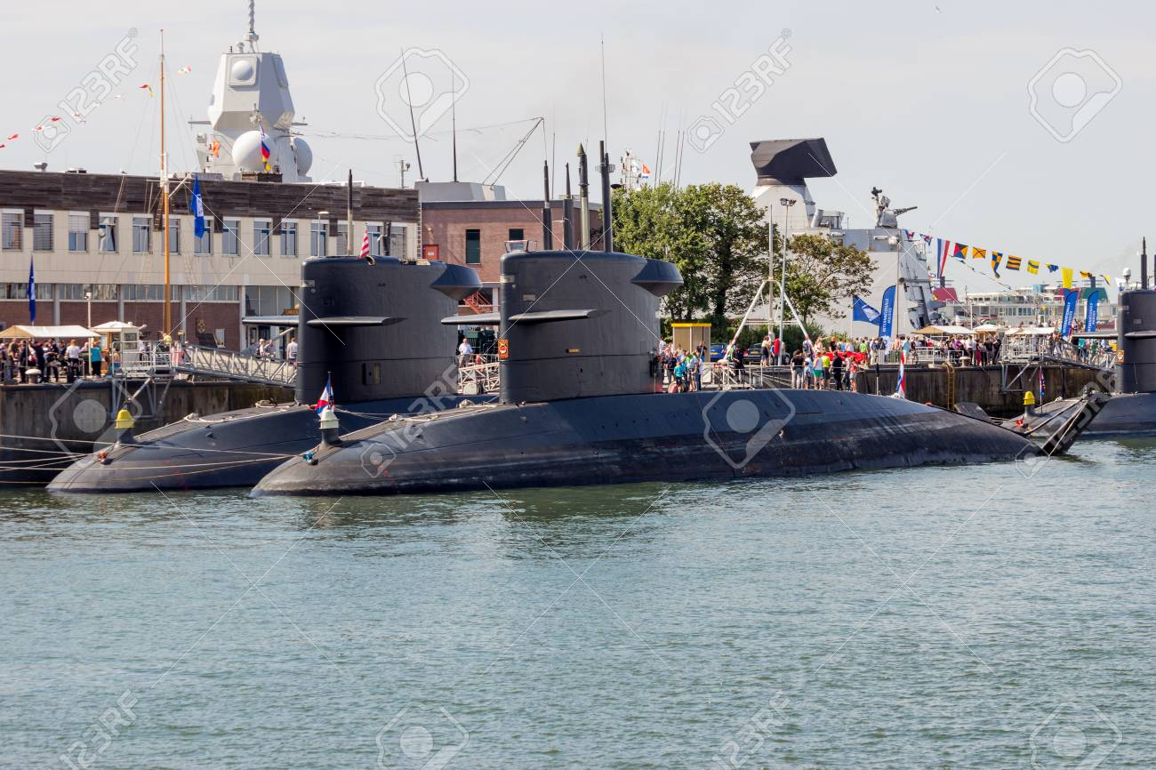 Den Helder The Netherlands Jul 7 2012 Dutch Navy Walrus Class Stock Photo Picture And Royalty Free Image Image 91067346