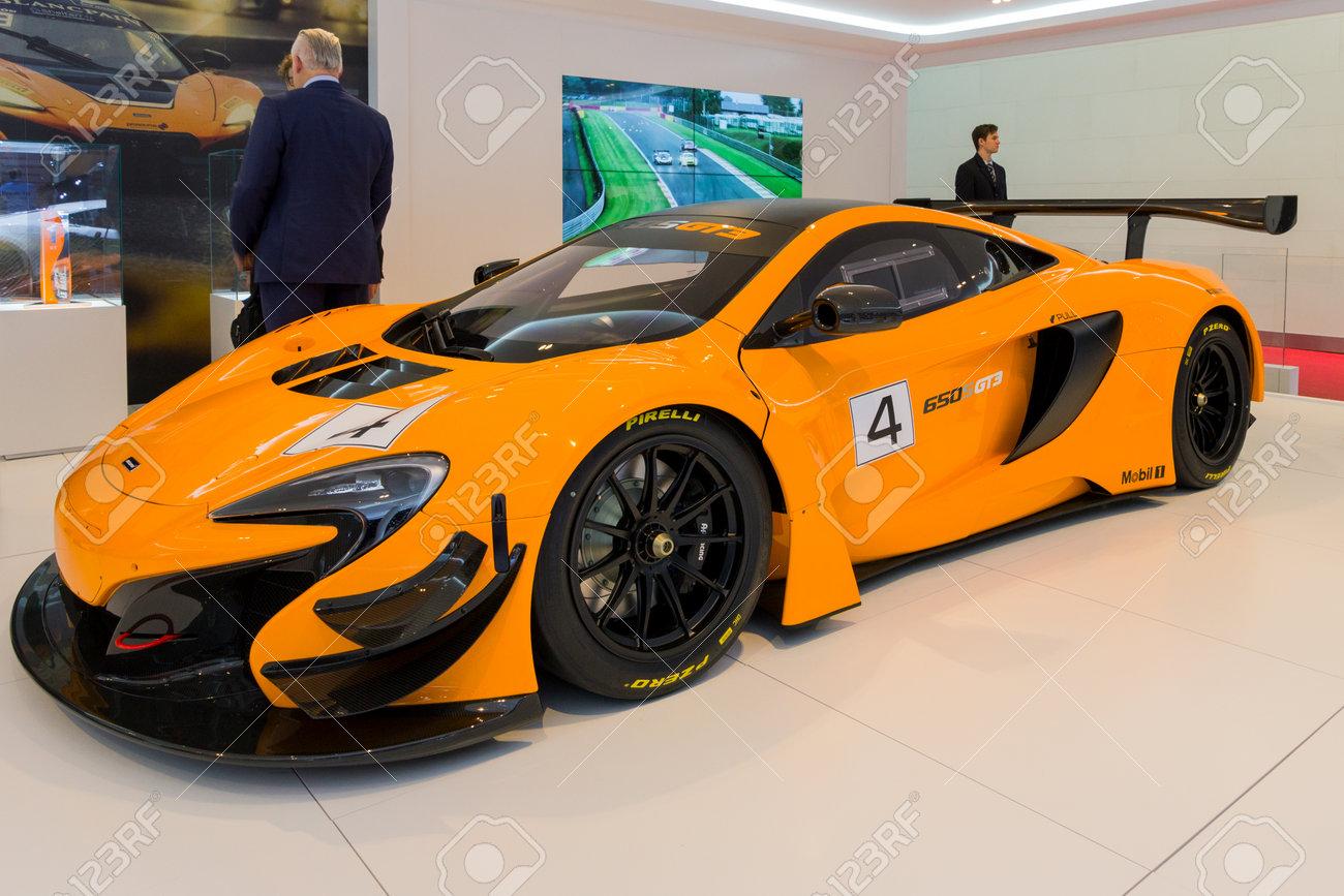 McLaren 650s GT3 Geneva International Motor Show 2016 Poster