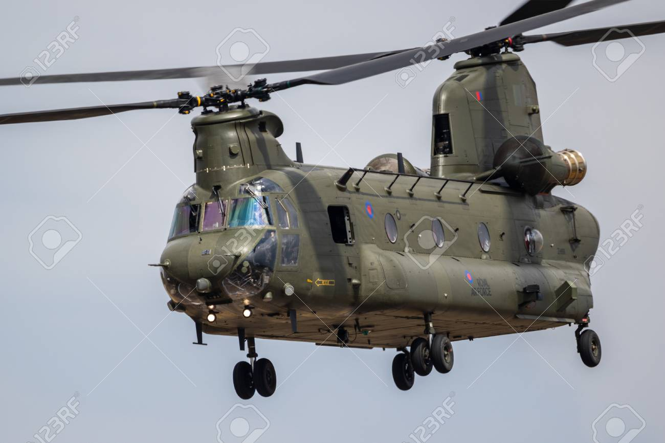 chinook der royal air force