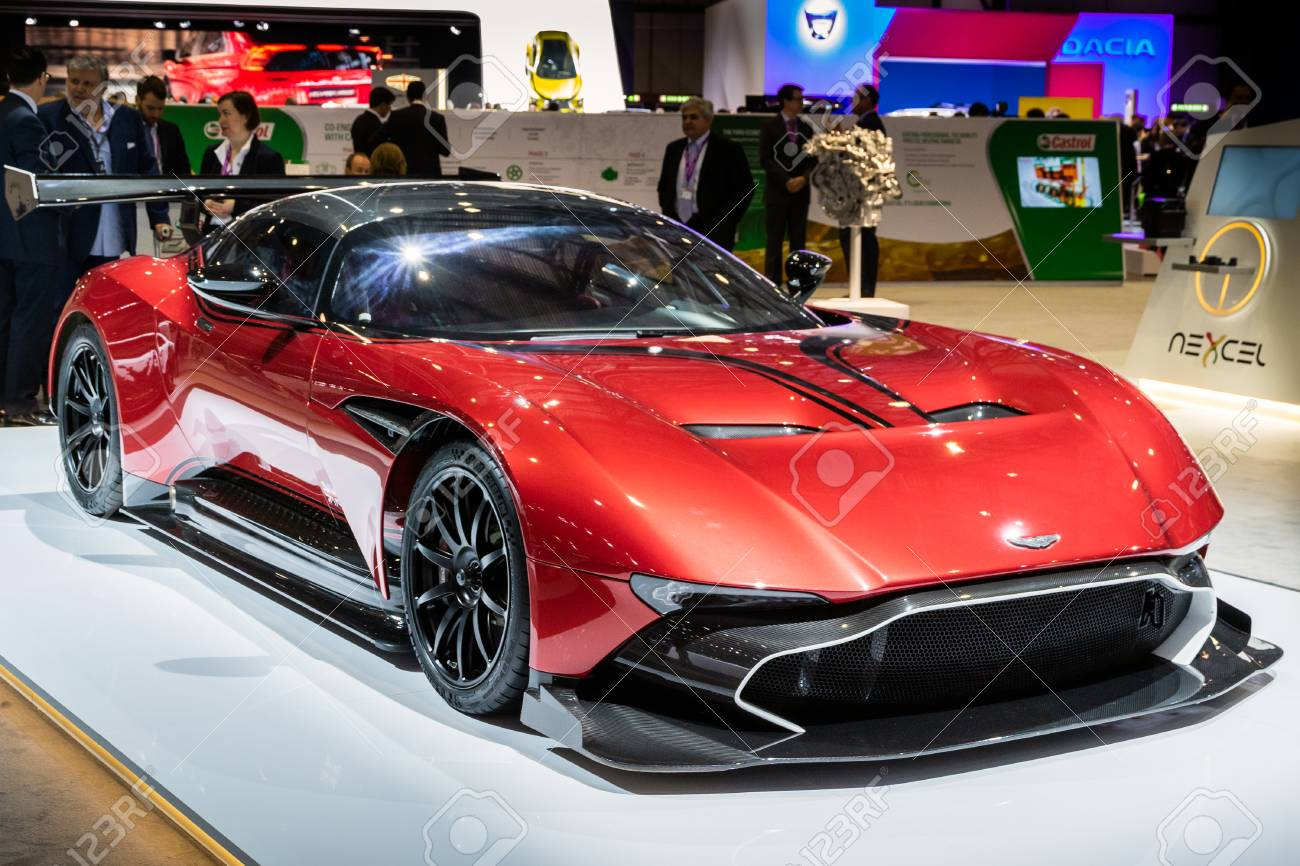 Geneva Switzerland March 8 2017 Aston Martin Vulcan Sports Stock Photo Picture And Royalty Free Image Image 115974142