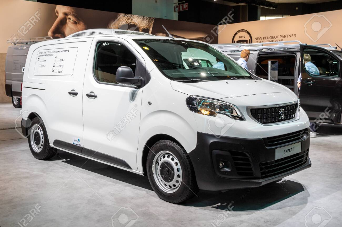 Brussels Jan 18 2019 Peugeot Expert Commercial Cooling Vehicle Stock Photo Picture And Royalty Free Image Image 128354888